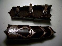 Assassins Creed Leather Bracers by MirabellaTook.deviantart.com on @deviantART