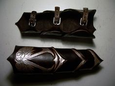 "Assassins Creed Leather Bracers by <a href=""http://MirabellaTook.deviantart.com"" rel=""nofollow"" target=""_blank"">MirabellaTook.dev...</a> on deviantART"