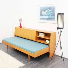 Elm Wood Daybed with Storage Space Bedroom Master Bedroom Design, Cozy bedroom design ideas Mcm Furniture, Furniture Design, Bedroom Furniture, Furniture Removal, Automotive Furniture, Automotive Decor, Furniture Dolly, Furniture Vintage, Furniture Companies