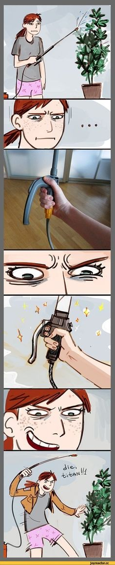 This would probably be me if I had one of those XD #SnK