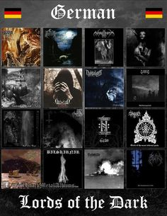 German's know how to make some amazing black metal! German's know how to make some amazing black metal! Black Metal, Rock Y Metal, Metal Band Logos, Metal Bands, Rock Bands, Heavy Metal Shirts, Metal Meme, Extreme Metal, Gothic Metal