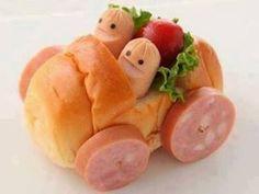 Con la comida....¿¿no se juega?? Comidas divertidas para niños | Ser padres es facilisimo.com
