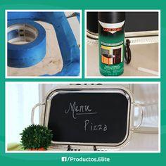 Crea tu propio pizarrón en casa. Sigue estos sencillos pasos #DIY #ConsejosElite