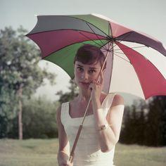 Vacaciones en Roma (Roman Holiday). Audrey Hepburn y Gregory Peck