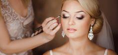 Glamorous Wedding Makeup Ideas For Pretty Bride - Make up - Wedding Makeup For Brown Eyes, Wedding Makeup Tips, Natural Wedding Makeup, Wedding Makeup Artist, Makeup For Green Eyes, Bridal Makeup, Glitter Eye Makeup, Eye Makeup Tips, Makeup Ideas