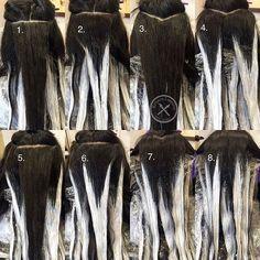 Diy Ombre Hair, Cabelo Ombre Hair, Baliage Hair, Balayage Hair Blonde, Balayage Diy, Diy Balayage At Home, Haircolor, Brown Balayage, Bayalage At Home