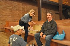 Lenny and Marcia Comeras from Easton Shoes distributed footwear in Columbus, Ohio for us. THANK YOU!!