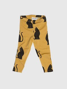 Mini Rodini Cats Leggings beige 104cm (n.30e)