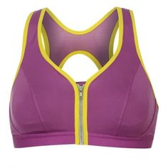 a6320d0fa537b BANG Padded Push Up Yoga Sports Bra is made from a breathable