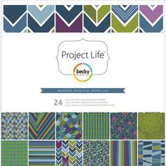 Project Life Rain Edition Designer Paper Collection Pack