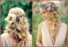 Peinados para novias de Carmen Peralta. Bridal hairstyles