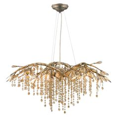 Autumn Chandelier, love it. Reminds me of a weeping willow tree.