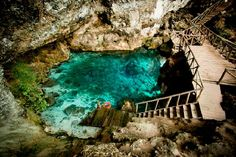 Hoyo Azul - Punta Cana, Dominican Republic. I will be going here in August for my honeymoon! So excited