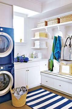50 Beautiful And Functional Laundry Room Ideas | White Chic, Laundry Rooms  And Laundry
