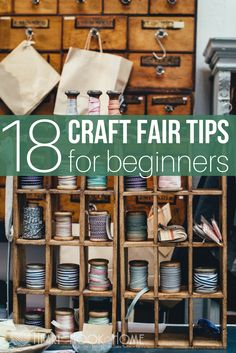 18 Craft Fair Tips for Beginners: How to Run a Successful Craft Show Booth http://hearthookhome.com/beginners-craft-fair-tips-how-to-run-a-successful-craft-show-booth/?utm_campaign=coschedule&utm_source=pinterest&utm_medium=Ashlea%20K%20-%20Heart%2C%20Hook%2C%20Home&utm_content=18%20Craft%20Fair%20Tips%20for%20Beginners%3A%20How%20to%20Run%20a%20Successful%20Craft%20Show%20Booth