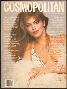 Cosmopolitan magazine, DECEMBER 1979 Model: Lisa Vale Photographer: Francesco Scavullo