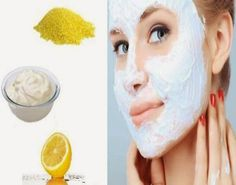 Apply fresh-squeezed lemon juice to your entire face and neck. Leave it on for 10 minutes and then wash it off with lukewarm water. #Beauty #Face