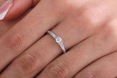 Inel de logodna cu diamante - RD424W pe https://www.royaldiamante.ro