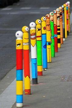 the simpsons street art - Google Search