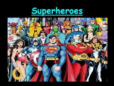 This is a unit based on comic books. There are a range of writing activities: short story, informative, biography and comic strip.