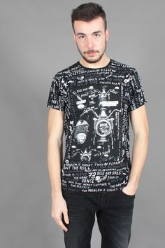 T-Shirt Pepe Jeans uomo Velvet Black PM502636-999 | €40.00