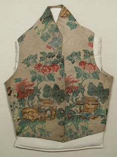 Waistcoat, 1810-20 Snowshill Manor © National Trust / Richard Blakey