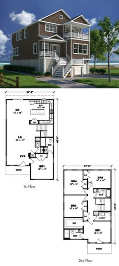 1000 Images About Coastal Living Collection Of Home Plans
