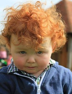 Commendations to this little guy's parents who, upon his arrival in the world, knew that the perfect name for him was Stanley Hebblethwaite. Precious Children, Beautiful Children, Beautiful Babies, Cute Children, Beautiful Red Hair, Beautiful Redhead, Little Babies, Cute Babies, Ginger Babies