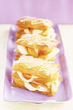 Postres: Milhojas de manzana
