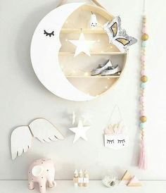 Baby Bedroom Girl Diy Shelves 15 Ideas For 2019 Baby Bedroom, Baby Room Decor, Nursery Room, Boy Room, Kids Bedroom, Nursery Decor, Deer Nursery, Baby Room Diy, Deco Kids