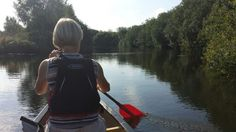 Canoeing on the River Ant