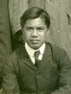 Hilary Pitapit Clapp at Port Hope train station in Ontario, 1907 #kasaysayan -- Igorot Hilary Pitapit Clapp was one of Canada's earliest Filipino migrants. He was chosen for conversion and re-education by Christian missionaries who gave him an English name. Christian Missionary, Our Country, Train Station, Filipino, Ontario, Conversation, Canada, English, Education