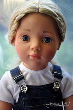 Onverwachte Joy Anna door Gotz / Doll Gotz - collectible spelen Gotz / Beybiki. Poppen foto. Kleding voor poppen