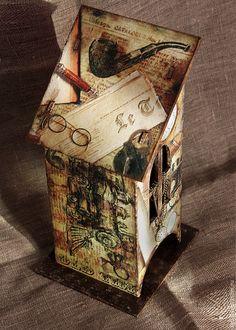 """Кухня ручной работы. Чайный домик """"Воспоминания о Шерлоке Холмсе"""". Изделия ручной работы от  Zuli. Интернет-магазин Ярмарка Мастеров."""