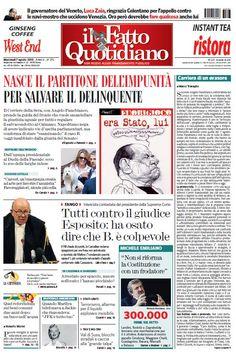 Il Fatto Quotidiano (07-08-13) Italian | True PDF | 24 pages | 9,15 Mb