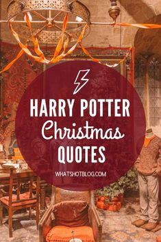 Is there anything better than Christmas at Hogwarts? Here's a complete list of the best Harry Potter Christmas quotes and scenes throughout the seven books!