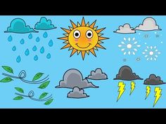 How's The Weather? Weather Song For Kids - YouTube