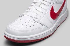 Air Jordan 1 Retro Low OG White/Varsity Red Official Images & Release Date