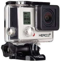 GoPro HERO3+ Silver Edition Camera - CHDHN-302