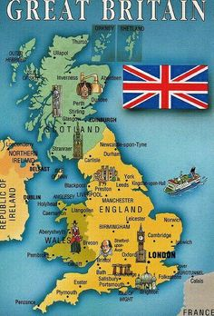 Great Britain have falling, American and Britain in Prophesy!