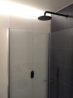 Bathroom is fully operational. The matte black shower fixtures from Astra Walker look pretty good! Just some small details left, along with the window and door. Pretty Good, How To Look Pretty, New Nordic, Shower Fixtures, Black Shower, Bathroom Renos, Matte Black, Windows, Window