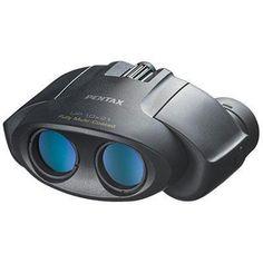10x21 Up Binocular Black
