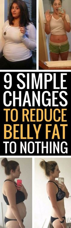 9 ways to actually get rid of belly fat.