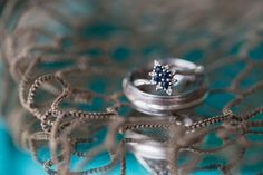 Vintage style sapphire engagement ring | Carly Fuller