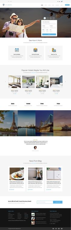 Hotel directory is a modern and perfect #PSD #template for hotels, #tour and travel directory listing website with 8 stunning homepage layouts and 32+ PSD pages download now➯ https://themeforest.net/item/hotel-directory-psd-teamplate/17029679?ref=Datasata