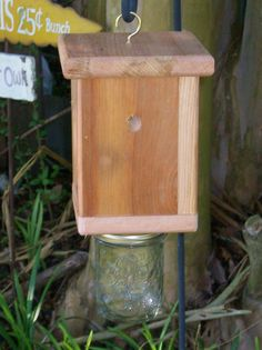 Teds Woodworking® - Woodworking Plans & Projects With Videos - Custom Carpentry Woodworking Guide, Custom Woodworking, Woodworking Projects Plans, Teds Woodworking, Bee Catcher, Garden Projects, Projects To Try, Carpenter Bee Trap, Bee Traps