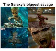 #SundayFunnies What did you all think of the #GuardiansoftheGalaxyVol2 #trailer? #BabyGroot is awesome! Unapologetically funny! And I love it! #GuardiansoftheGalaxy #Groot #IAmGroot #Drax #Gamora #StarLord #RocketRaccoon #Mantis #ChrisPratt #ZoeSaldana #Bautista #BradleyCooper #MCU #Marvel
