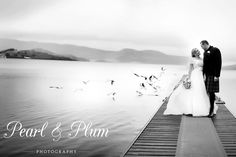 Stunning shot and a stunning wedding in Loch Lomond Scotland. Loch Lomond Scotland, Plum, Pearl, Wedding Dresses, Photography, Fashion, Bride Dresses, Moda, Bridal Gowns