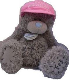 peluche me to you 20 cm casquette rose joyeux anniversairedisponible sur cadodescom