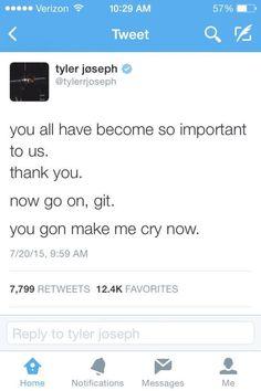 Tyler is so cute.
